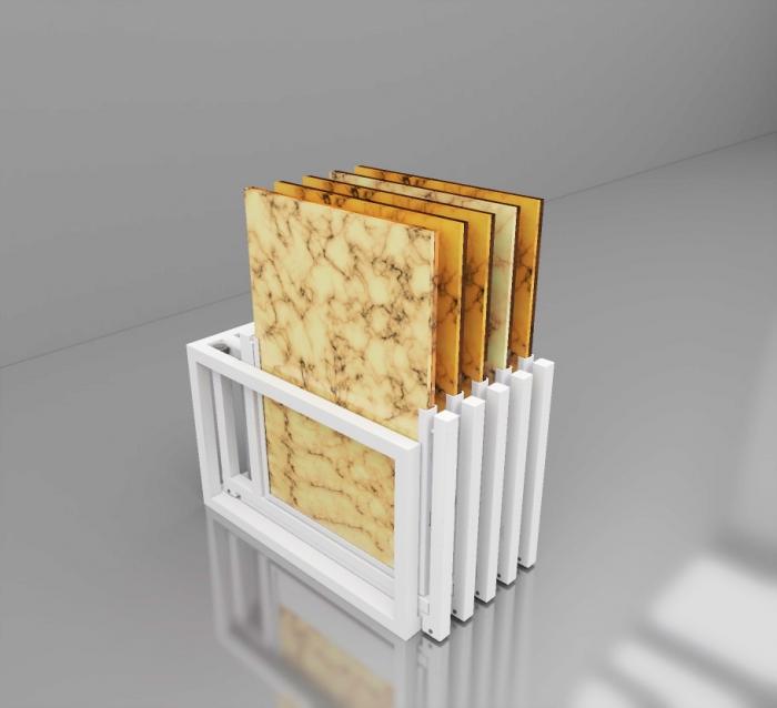 ARTE TWIST 5-60х120 Экспозиторы для напольных покрытий фото