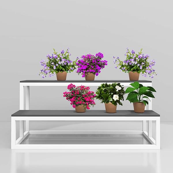 Лавка для вазонов 2 Для магазинов фото